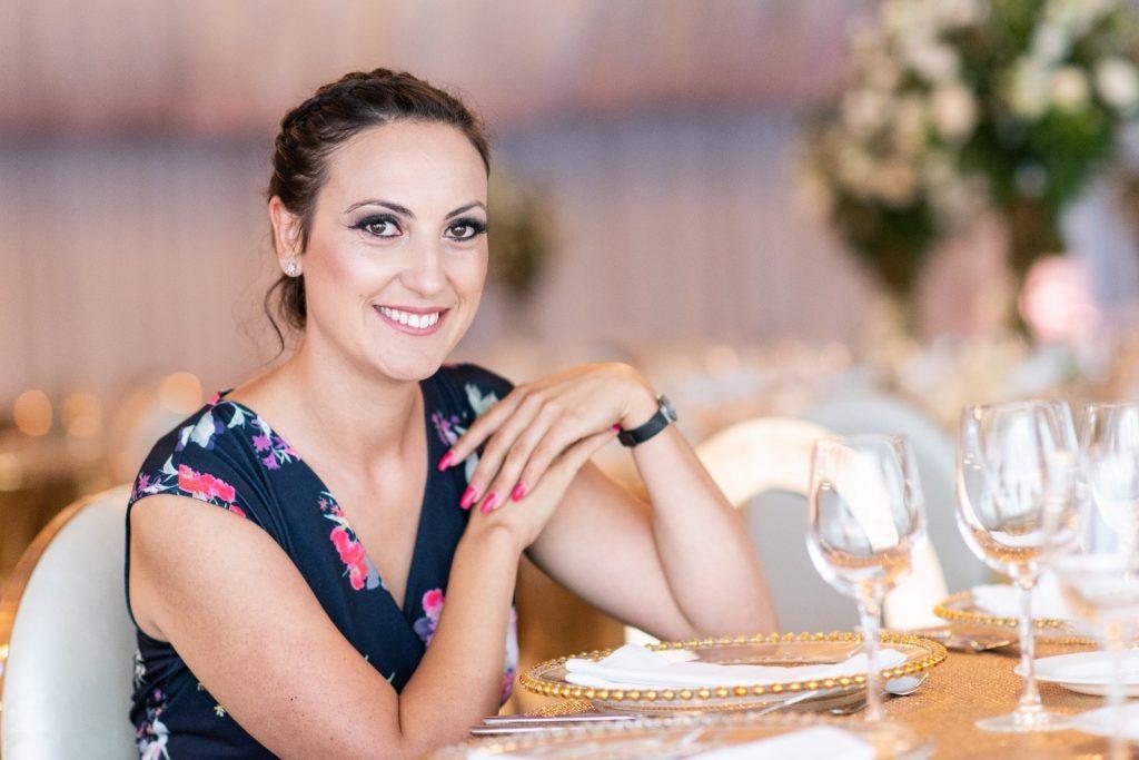 Carmen Ionita, event planner